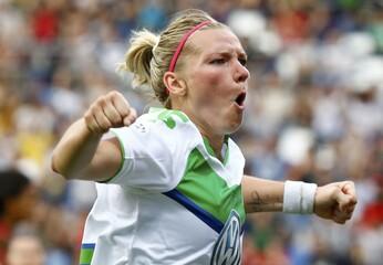 Football Soccer - VfL Wolfsburg v Olympique Lyon -  UEFA Women's Champions League Final - Mapei stadium, Reggio Emilia, Italy - 26/05/16