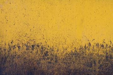 Yello dirty with Yello dirty asphalt  background - fototapety na wymiar