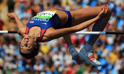 Athletics - Women's High Jump Qualifying Round - Groups