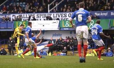 Portsmouth v Shrewsbury Town - Sky Bet Football League Two
