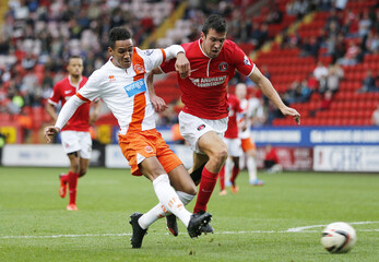 Charlton Athletic v Blackpool - Sky Bet Football League Championship