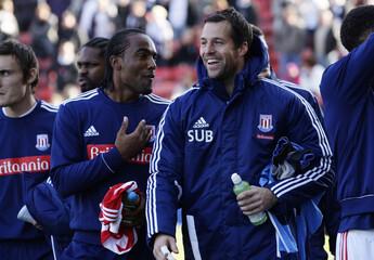 Stoke City v Fulham Barclays Premier League
