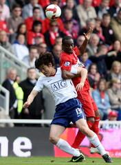 Middlesbrough v Manchester United Barclays Premier League
