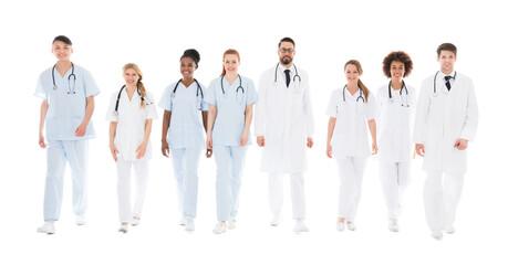Portrait Of Confident Happy Doctors