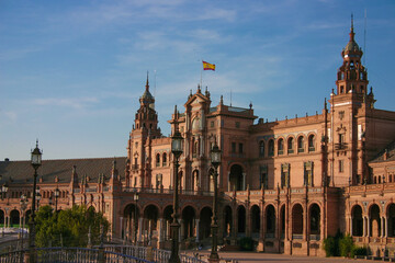 Spanish Square in Seville Spain