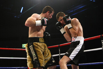 Gavin Rees v Andy Murray European Lightweight Title