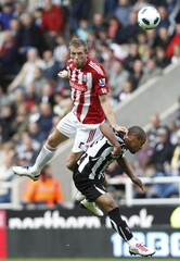 Newcastle United v Stoke City Barclays Premier League
