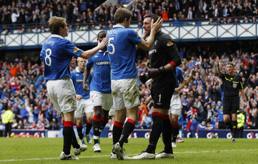 Rangers v Celtic Clydesdale Bank Scottish Premier League
