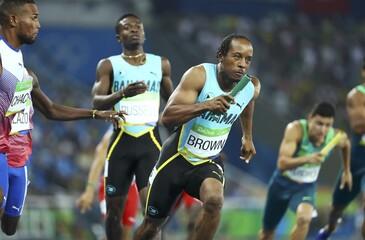 Athletics - Men's 4 x 400m Relay Round 1