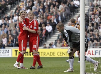 Hull City v Liverpool Barclays Premier League