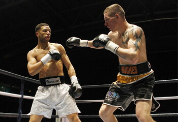 Nav Mansouri v Matthew Mallin English Light Middleweight Title