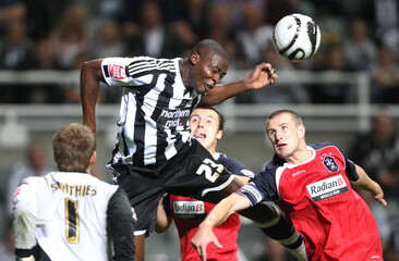 Newcastle United v Huddersfield United Carling Cup Second Round