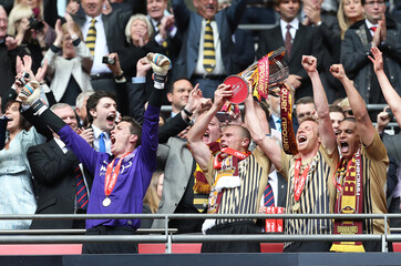 Bradford City v Northampton Town - npower Football League Two Play-Off Final