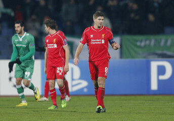 PFC Ludogorets Razgrad v Liverpool - UEFA Champions League Group Stage Matchday Five Group B