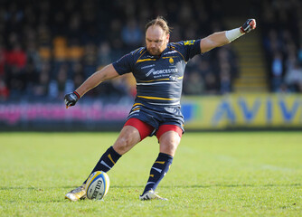 Worcester Warriors v Northampton Saints - Aviva Premiership