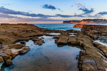 Rock Shelf Seascape