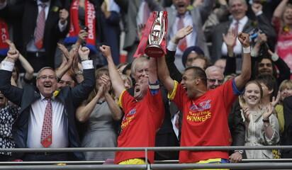 Dagenham & Redbridge v Rotherham United Coca-Cola Football League Two Play Off Final