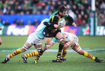 Northampton Saints v Perpignan 2009/10 Heineken European Cup Pool One