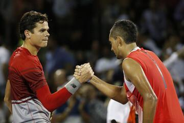 Tennis: Miami Open-Kyrgios v Raonic