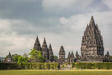 Prambanan temple morning