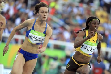 2016 Rio Olympics - Athletics - Preliminary - Women's 200m Round 1
