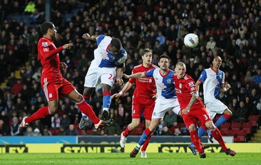 Blackburn Rovers v Liverpool Barclays Premier League