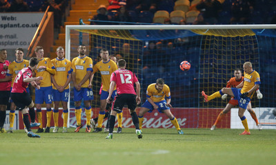 Mansfield Town v Oldham Athletic - FA Cup Second Round Replay