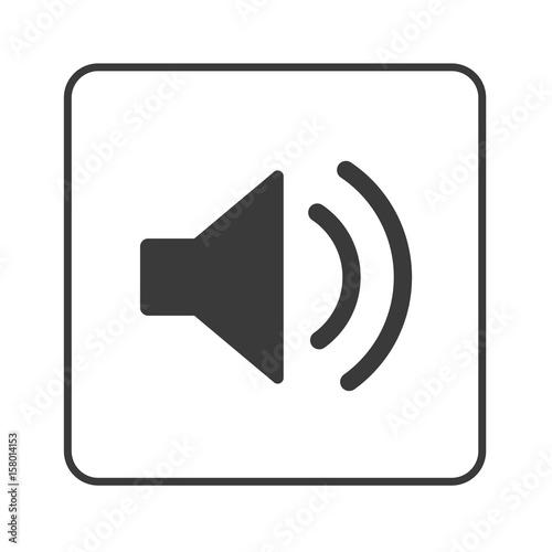 Lautsprecher - Lautstärke - Simple App Icon\