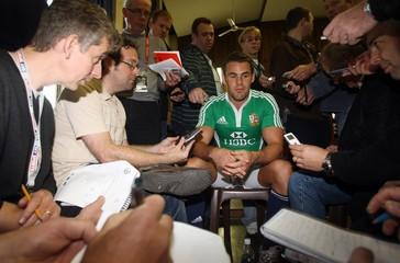 British & Irish Lions Training & Press Conference