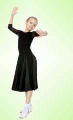 Graceful little dancer.