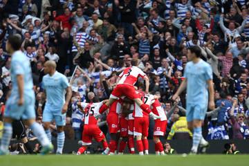 Manchester City v Queens Park Rangers Barclays Premier League
