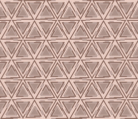 Abstract geometric seamless pattern, background. Graphic mosaic of triangles.