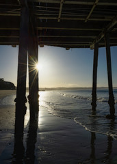 Capitola Pier Sunrise California