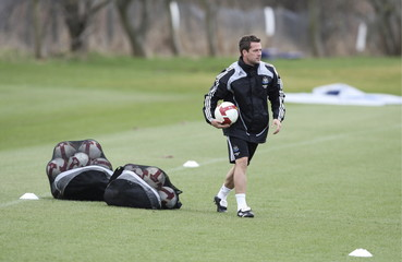 Newcastle United Training