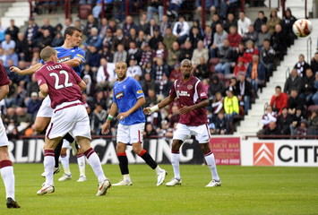 Heart of Midlothian v Rangers Clydesdale Bank Premier League
