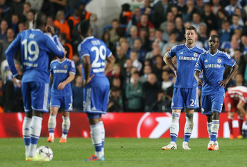 Chelsea v Atletico Madrid - UEFA Champions League Semi Final Second Leg