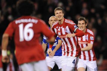 Stoke City v Birmingham City Barclays Premier League