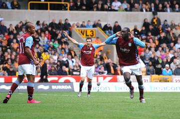 Wolverhampton Wanderers v Aston Villa Barclays Premier League