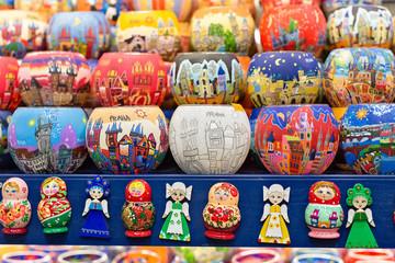 Czech souvenirs for tourists