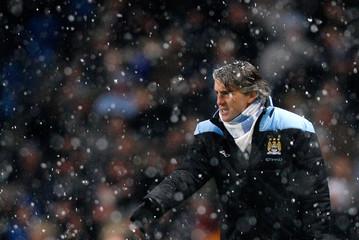 Manchester City v Fulham Barclays Premier League
