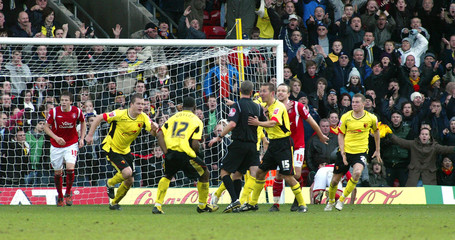 Watford v Nottingham Forest Coca-Cola Football League Championship