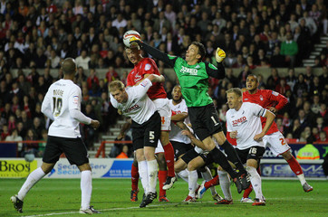Nottingham Forest v Swansea City npower Football League Championship Play-Off Semi Final First Leg