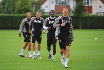 Fulham Training & Press Conference