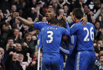 Chelsea v Manchester City Barclays Premier League