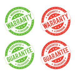 Grunge Warranty Seal Stamp