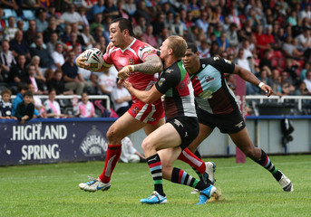 Harlequins Rugby League v Wigan Warriors engage Super League