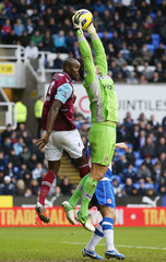 Reading v West Ham United - Barclays Premier League