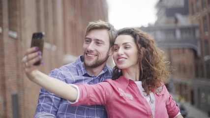 008 Couple Posing For Selfie