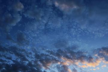 Heap of clouds in the sky