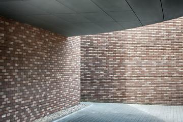 Brick wall made of bricks